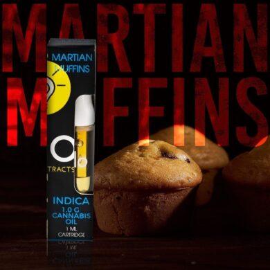 buy goo extracts martian-muffins-indica.- glo wax carts