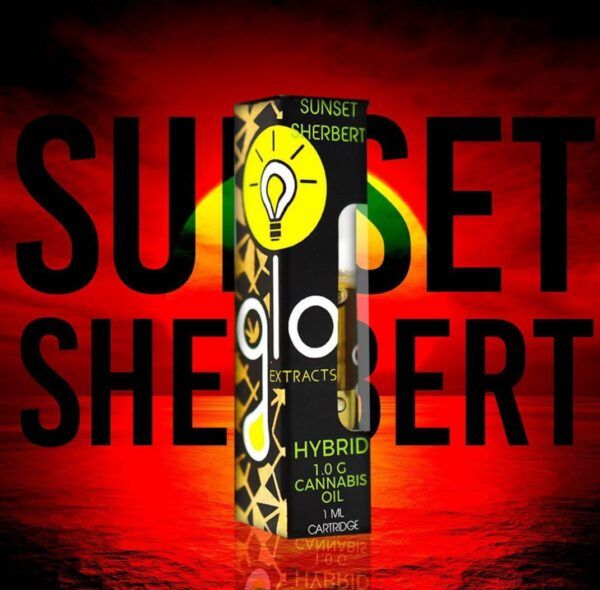 buy goo extracts sunset sherbet hybrid-glo carts for sale