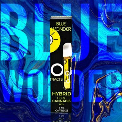 Blue wonder Glo Cart