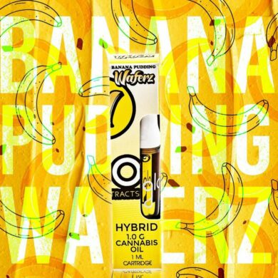 Banana Pudding waferz Glo Cart